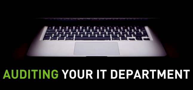Auditing Your IT Department